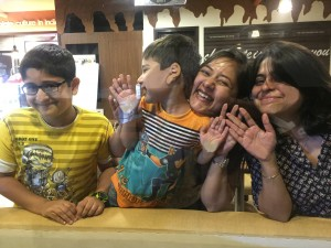 Nidhi With Kids1